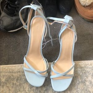 Forever21 Blue Strappy Heels